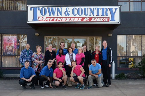 town and country mattresses & beds