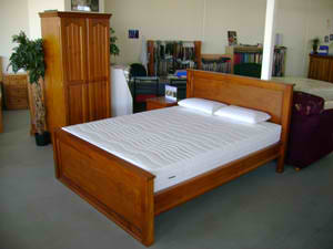Electric Adjustable Beds Specialist, Adjustable Electric 6B-Adelaide-Pine-Stained 6B Adelaide Pine Stained Designs Timber Beds
