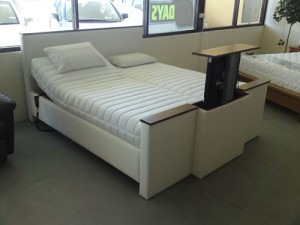 homcare deluxe with tv bed