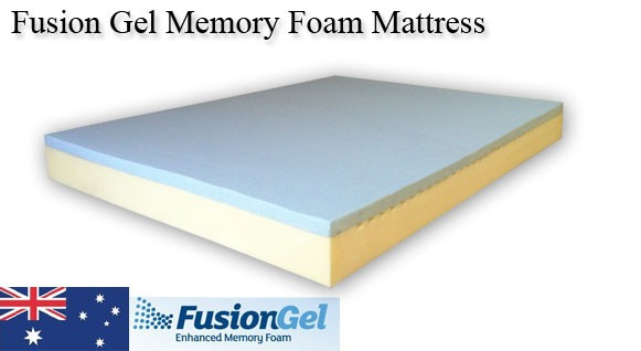 Australian Made Fusion Gel Memory Foam Mattress