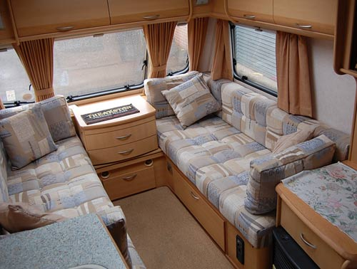 caravan and moterhome upholstery