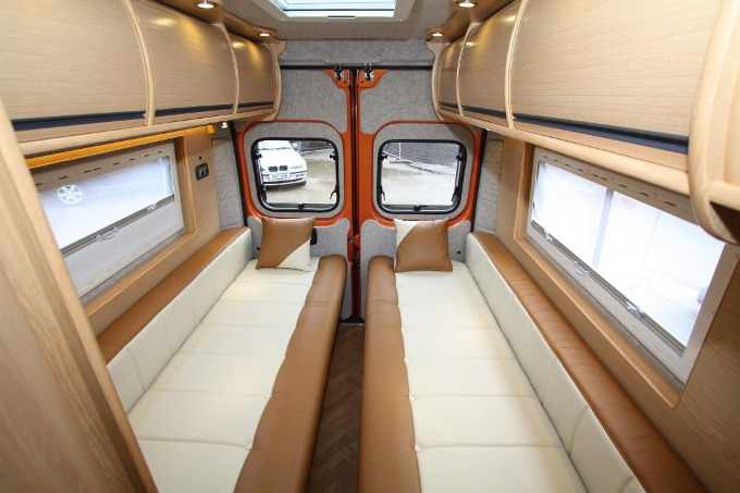 Electric Adjustable Beds Specialist, Adjustable Electric saint-tropez-motorhome-beds-and-seating-area Custom Made Mattresses & Beds  for Caravans & Motor Homes