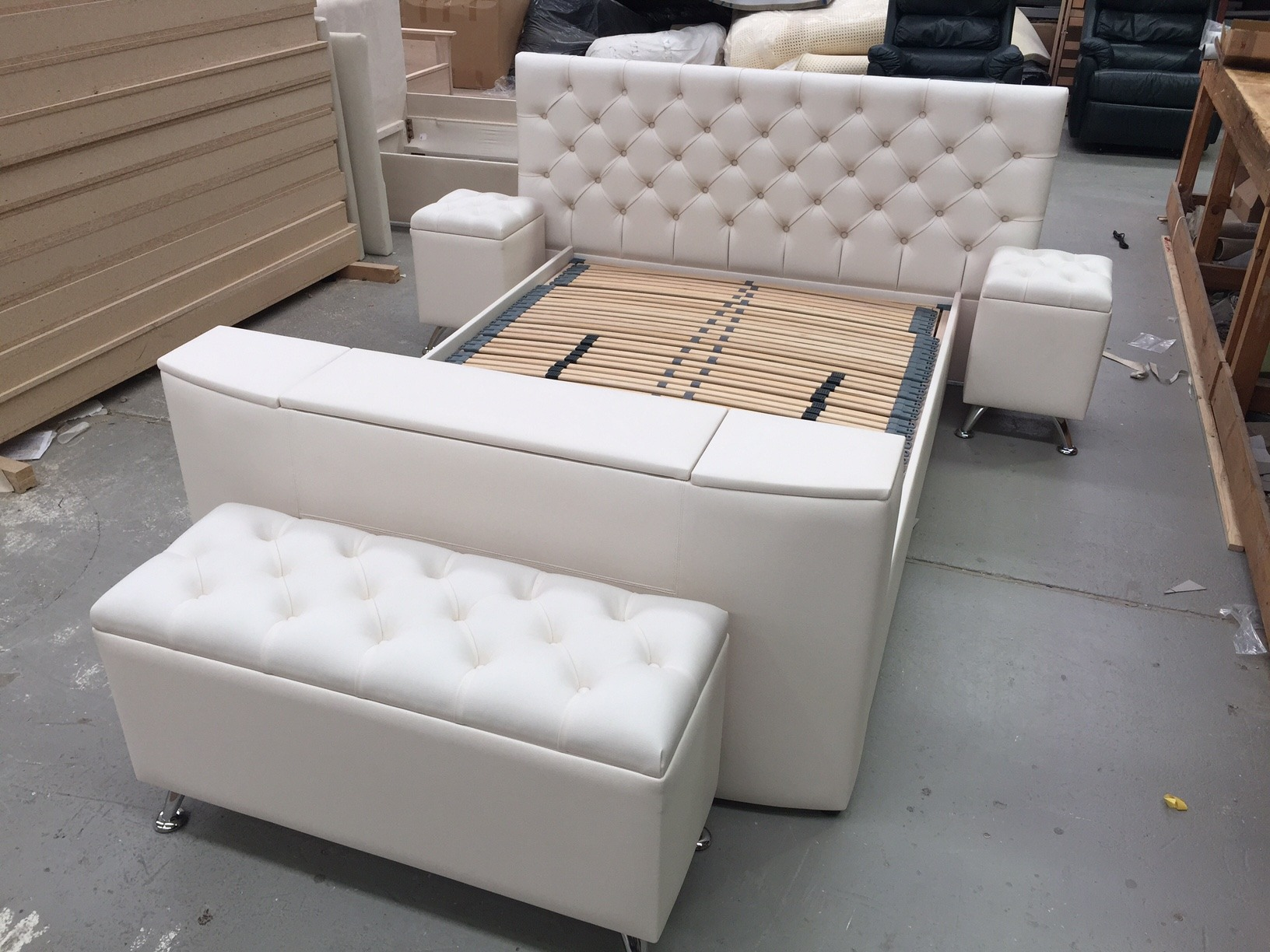 Electric Adjustable Beds Specialist, Adjustable Electric S16-Perth-With-Ottoman The Perth With Ottoman Designs