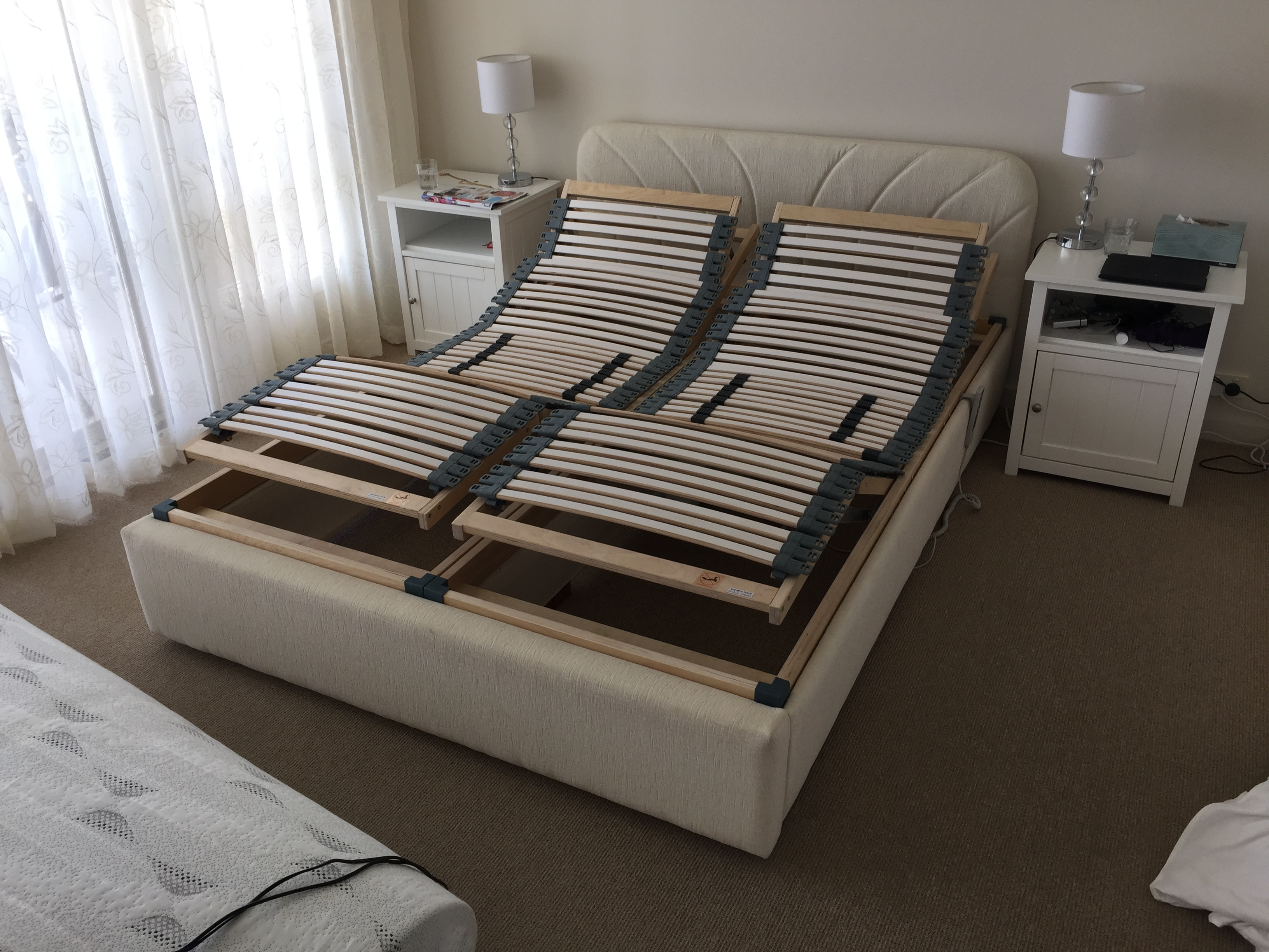 electric adjustable bed frame