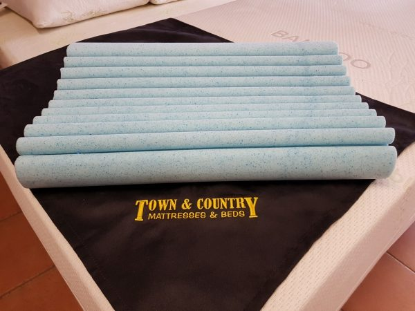 Electric Adjustable Beds Specialist, Adjustable Electric Pillow-3-1 Dunlop Contoured Fusion Gel Memory Foam Pillows
