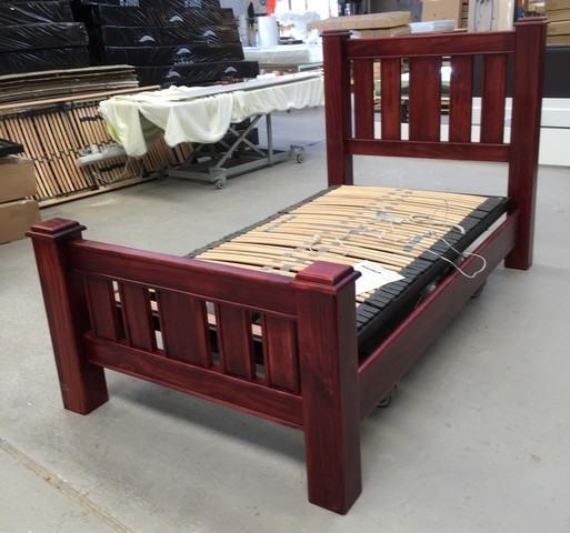 Electric Adjustable Beds Specialist, Adjustable Electric Timber-Hi-Lo Home Care Hi Lo