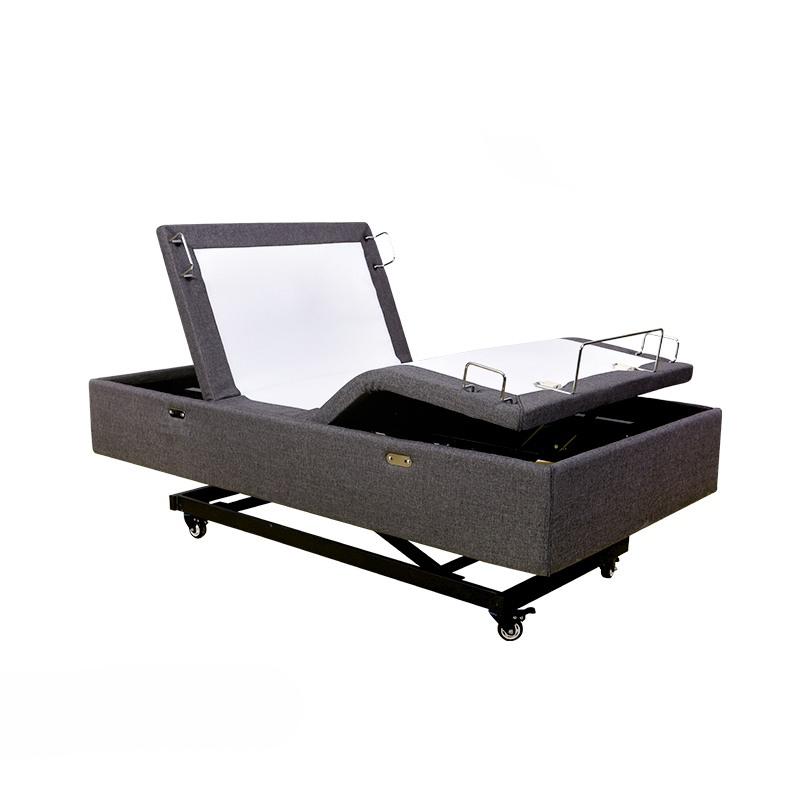 Electric Adjustable Beds Specialist, Adjustable Electric Eden-HiLo-Bed-1 Homecare Hi lo Hospital Bed