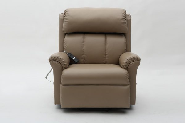 Electric Adjustable Beds Specialist, Adjustable Electric LC51-Front-view Kingston Electric Lift Recliner with massage and heating
