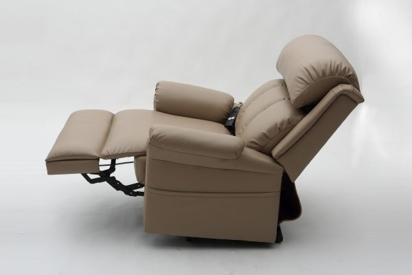 Electric Adjustable Beds Specialist, Adjustable Electric LC51-Side-view Kingston Electric Lift Recliner with massage and heating
